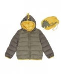 Epic Threads Kids' Hooded Full Zip Packable Jacket w/ Matching Bag (various)