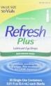 50-Count 0.01-Oz Refresh Plus Lubricant Eye Drops