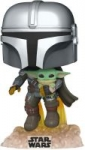 Funko Pop! Star Wars: The Mandalorian: Flying w/ The Child Pre-Order