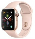 Apple Watch Series 4 40mm GPS Smartwatch (Pink) + NEXT Sport Band Watch Strap