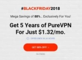 [PureVPN 88% Off] Exclusive Black Friday VPN Offer