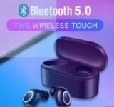 Wireless Bluetooth TWS Wireless Bluetooth Earbud Touch Control Headset $18.99
