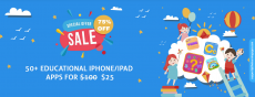 $25 for full access in 50+ Educational Apps for kids ($100 Regular Price – 75% Off)