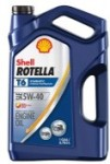 Shell ROTELLA T6 5W-40 CJ-4 Diesel Engine Oil 1 Gallon for $12.97