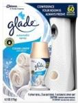 Glade Automatic Spray Holder & Clean Linen Refill Starter Kit