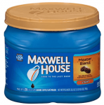 26.8oz Maxwell House Master Blend Ground Coffee (Light Roast)