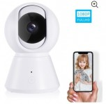 IP Camera, Wireless Security Camera 1080P HD, WiFi Home Indoor Camera Surveillance Monitor for Baby/Pet/Nanny, Motion Detection, 2 Way Audio