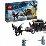 LEGO Harry Potter Grindelwald's Escape Building Set