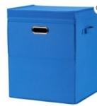 Mainstays Laundry Hampers: Front Loading Stackable Hamper w/ Lid (Large)