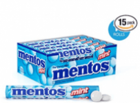 15-Rolls Mentos Chewy Candy (Mint Flavor)