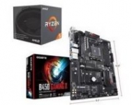 AMD Ryzen 5 2600 Processor + Gigabyte B450 Gaming X Motherboard