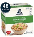 48-Count Quaker Instant Oatmeal Packets (Apples & Cinnamon)