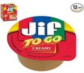 36-Count 1.5oz Jif To Go Natural Creamy Peanut Butter Cups