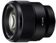Sony 85mm f/1.8 Full-Frame E-Mount Prime Lens