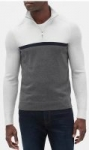 Banana Republic Factory: Men's Quarter-Zip Pullover $20.80 & More + Free S&H on $50+