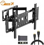 TV Wall Mount for Most 32-70 Inches Flat & Curved TVs