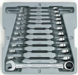 12-Piece GearWrench Metric Ratcheting Wrench Set