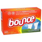 Add-on Item: 120-Count Bounce Fabric Softener Dryer Sheets (Outdoor Fresh) $3