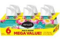 6-Ct Renuzit Adjustable Air Freshener Gel
