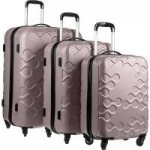 American Tourister Kamiliant Harrana 3PC Set Luggage for $111.99