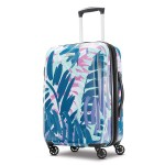 American Tourister Moonlight Expandable Hardside Luggage with Spinner Wheels