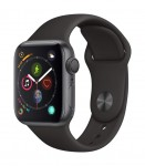 Apple Watch Series 4 (GPS, 40mm) – Space Gray Aluminium Case with Black Sport Band $349.00