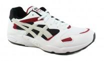 ASICS Mens Gel-Diablo White Running Casual Sneaker Shoes for $29.99