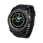 Bakeey V8s 1.22′ IPS Curved Screen GSM Watch Phone Smart Watch