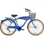 BCA 26″ Men's, Margaritaville Multi-Speed Cruiser Bike, Blue $99.00