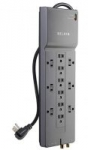 Belkin 12-Outlet Power Strip Surge Protector w/ 8′ Cord