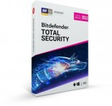 Bitdefender Total Security with VPN + 5 Devices + 2 Years