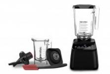 Blendtec Designer 650 with Wildside+ Jar and Twister Jar Bundle Countertop Blender