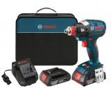 Bosch 18V Brushless Impact Driver Kit w/ 2 Batteries, Charger & Case