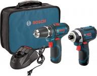 Bosch CLPK22-120 12V Max Li-Ion Drill/Driver & Impact Driver Kit