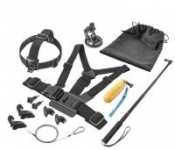 Dynex- Essentials Accessory Kit for GoPro Action Camera