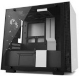 NZXT H200 Mini-ITX PC Gaming Case w/ Tempered Glass Panel (White)