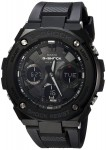 Casio Men's 'G Shock' Quartz Stainless Steel and Resin Casual Watch, Color:Black $190.27