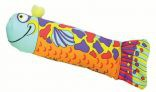 Petstages Madcap Crunch & Wrestle Fish Cat Toy