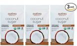 3-Pack 1 lb Nutiva Organic Unrefined Granulated Coconut Sugar