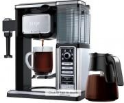 Ninja – Coffee Bar 10-Cup Coffee Maker – Black/Stainless