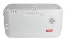 Coleman Coastal Xtreme 120-Quart Marine Cooler