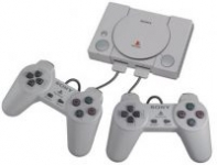Sony PlayStation Classic Console (20 Pre-Installed Games) & 2 Controllers
