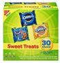 Nabisco Cookies Sweet Treats Variety Pack Cookies – with Oreo, Chips Ahoy, & Golden Oreo – 30 Snack Packs
