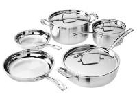 CUISINART Multiclad Cookware Set (8-Piece)-50% OFF