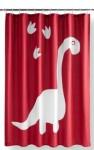 Your Zone 72″x72″ Fabric Shower Curtain w/ Dinosaur Paw Print