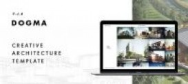 Dogma – Responsive Architecture Template Free
