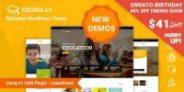Education WordPress Theme | Education WP 40% OFF $41