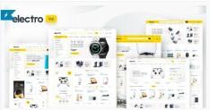 Electro Electronics Store WooCommerce Theme-$35-@envatomarket