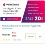 Unlimited Elements for Elementor Page Builder Free