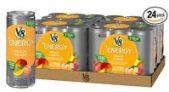 24-Pack of 8oz V8 +Energy Drinks (Various Flavors)